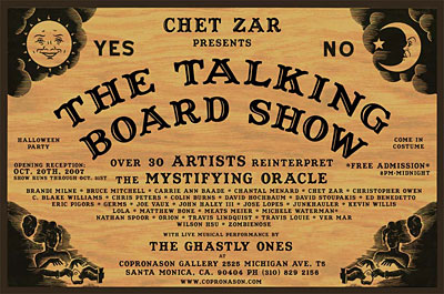 Talking Board Show Oct 20 2007